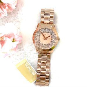 Michael Kors Women's Runway Baguette Watch MK6533